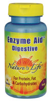 Nature's Life Enzyme Aid Digestive Cap